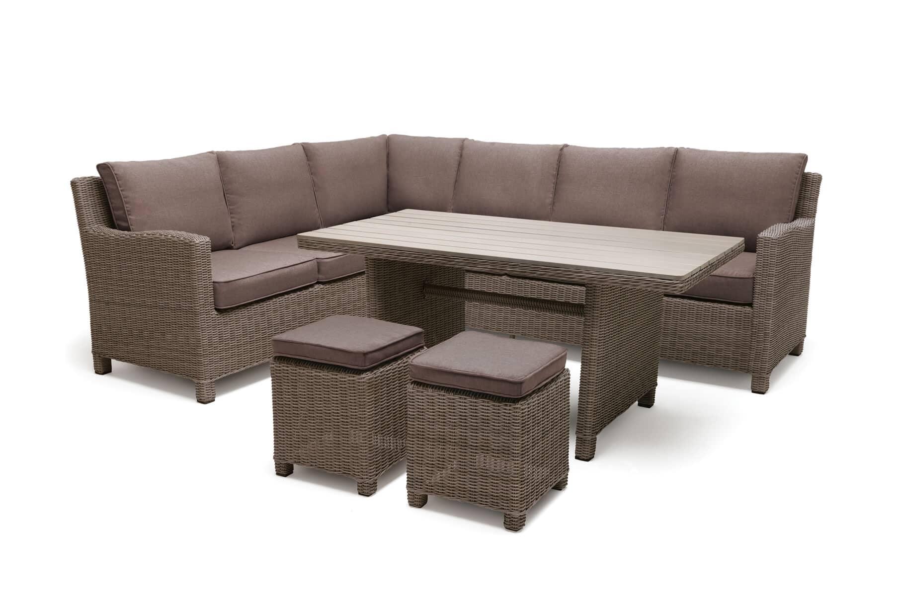 kettler palma casual dining corner set rh rattan kpalcor01 garden furniture world. Black Bedroom Furniture Sets. Home Design Ideas