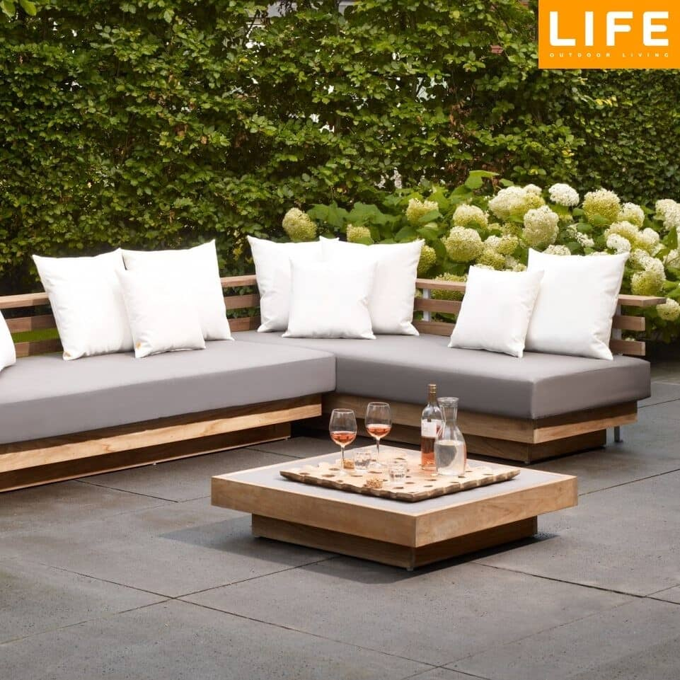 Life london teak set llonset01 garden furniture world for Furniture world