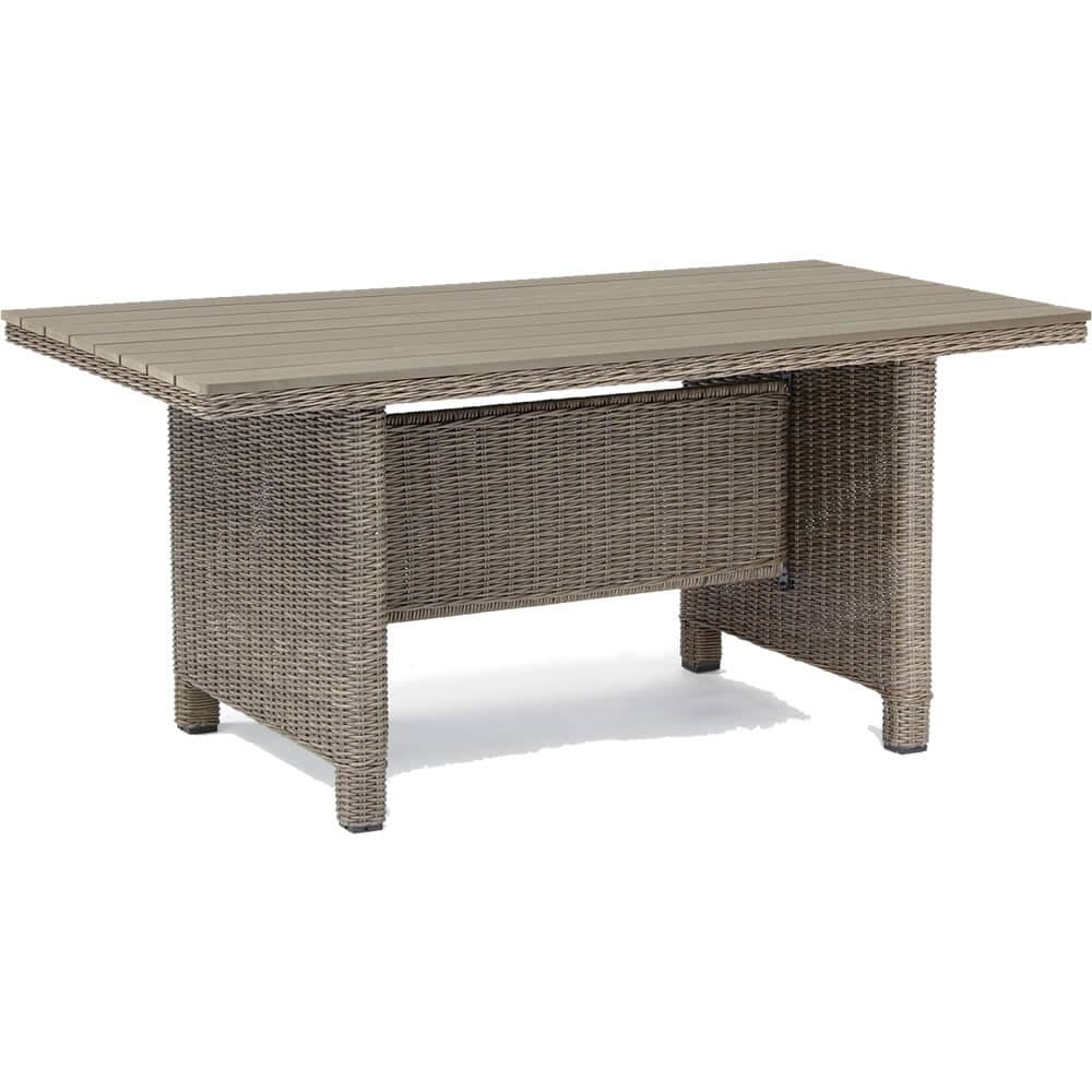 Kettler palma table rattan with infinitree top 0193314 for Table kettler