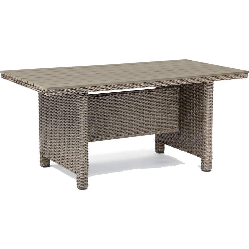 Kettler palma table rattan with infinitree top 0193314 2100 garden furniture world for Table kettler