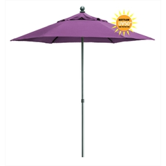 Kettler 2.3m Push Up Parasol Amethyst