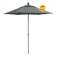 Kettler 2.3m Push Up Parasol Slate