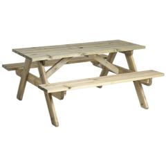 Pine Heavy Duty Picnic Table 6ft