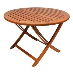Alexander Rose Cornis Folding Table 1.1m