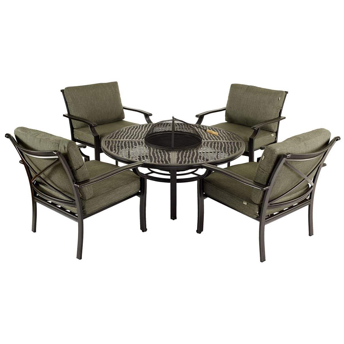Jamie oliver fire pit set pesto 60773131 garden for Furniture world