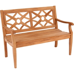 Alexander Rose Mahogany Heritage 4ft Bench