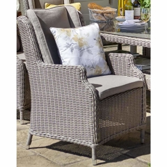 Hartman Hartford Dining Chair And Cushion - Driftwood/Cashew