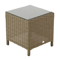 Hartman Madison/Appleton Side Table - Sepia (Brown Rattan)