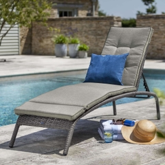 Hartman Madison/Appleton Loungers (2) Slate/Stone