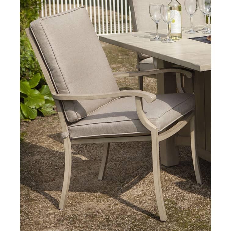 Portland Dining Chair With Cushion 68723172c Garden
