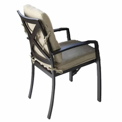 Hartman Jamie Oliver Contemporary Dining Chair 2017 Bronze with Biscuit Cushions