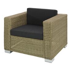 Monte Carlo Lounge Chair - Brown (2.5mm)