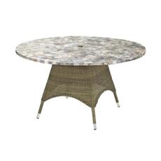 Monte Carlo 1.5m Mosaic Table - Brown (2.5mm)
