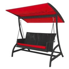 Monte Carlo Swing Seat - Black/Red (2.5mm)