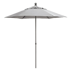 Kettler 2.3m Push Up Parasol French Grey inc. Night Cover
