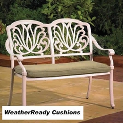 Hartman Amalfi Bench Weatherready Cushion Maize/Taupe