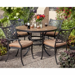 Hartman Celtic Aria 4 Seat Round Garden Furniture Set