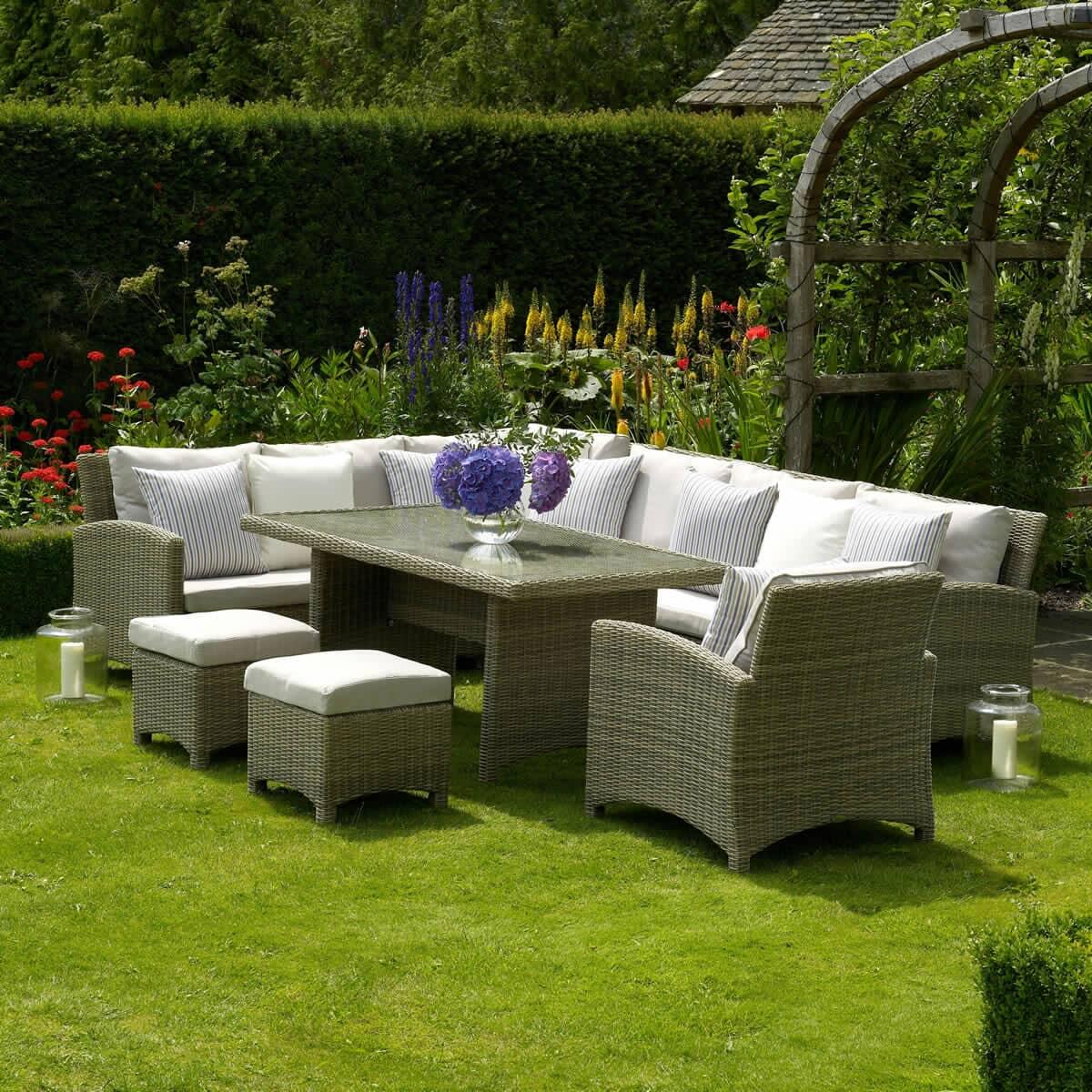bramblecrest cotswold casual dining set bcotsc. Black Bedroom Furniture Sets. Home Design Ideas