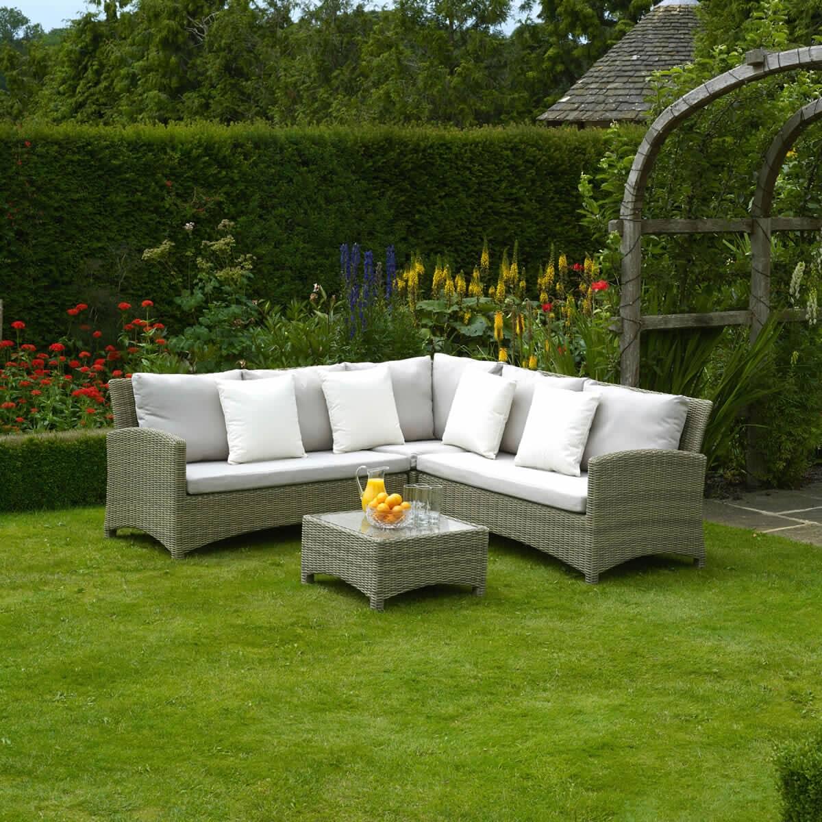 bramblecrest cotswold sofa corner set bcotsd garden. Black Bedroom Furniture Sets. Home Design Ideas