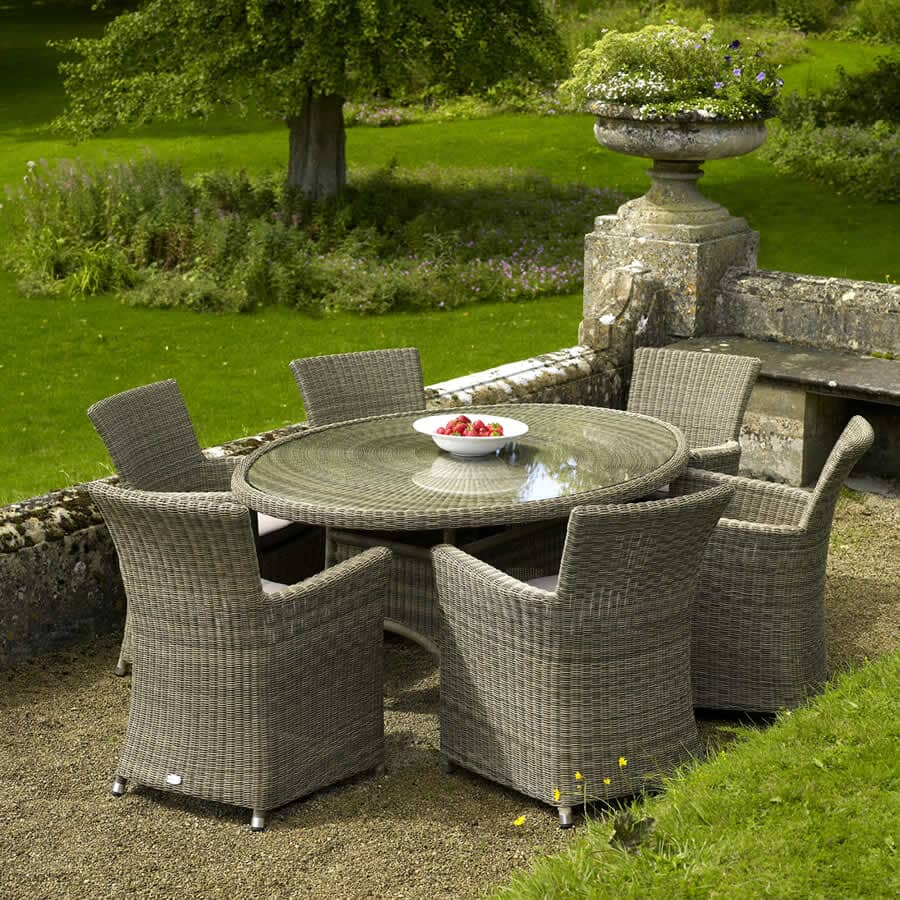 bramblecrest sahara 6 seat elliptical set bsahset01a. Black Bedroom Furniture Sets. Home Design Ideas