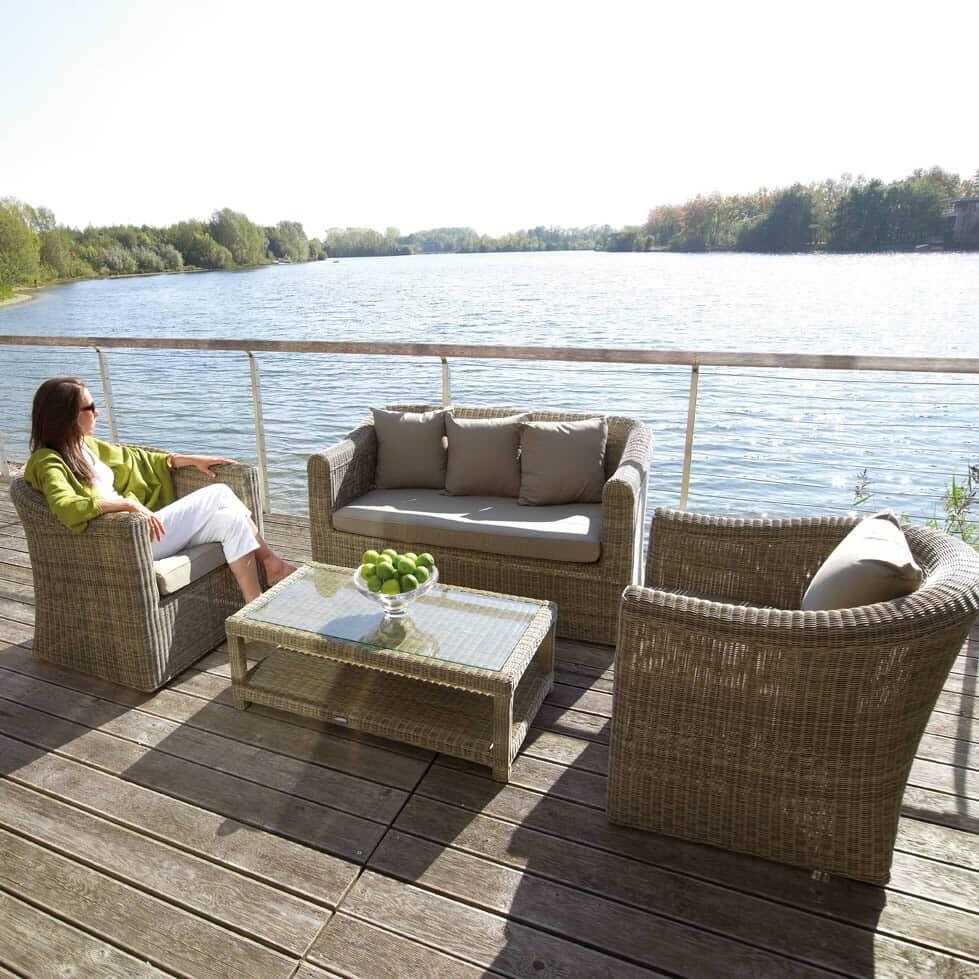 bramblecrest sahara sofa set bsahset07 garden. Black Bedroom Furniture Sets. Home Design Ideas