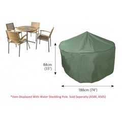 Bosmere Circular Table Cover - 4/6 seat