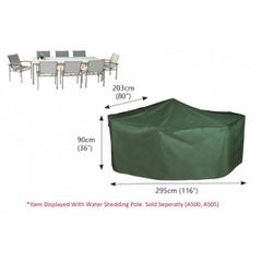 Bosmere Rectangular Patio Set Cover - 8 seat