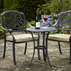 Hartman Amalfi Bistro Set in Bronze