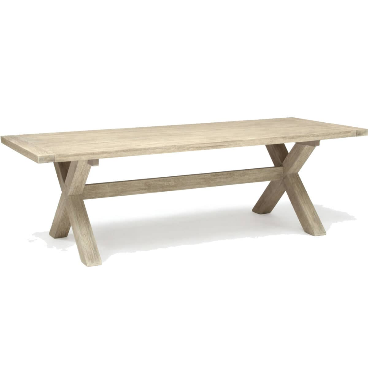 Kettler cora 240 x 110cm dining table huc31409c for Table kettler