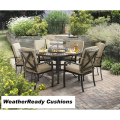 Hartman Jamie Oliver Contemporary Grilling Set Weatherready Cushions Bronze/Biscuit