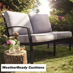 Hartman Jamie Oliver Contemporary Sofa Weatherready Cushions Bronze/Biscuit