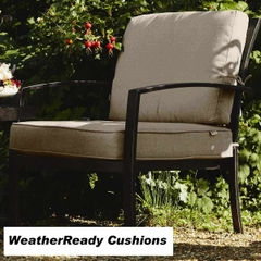 Hartman Jamie Oliver Chill Out Chair Weatherready Cushions Bronze/Biscuit