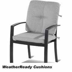 Hartman Jamie Oliver Contemporary Dining Chair Weatherready Cushion Riven/Pewter