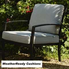 Hartman Jamie Oliver Chill Out Chair Weatherready Cushions Riven/Pewter