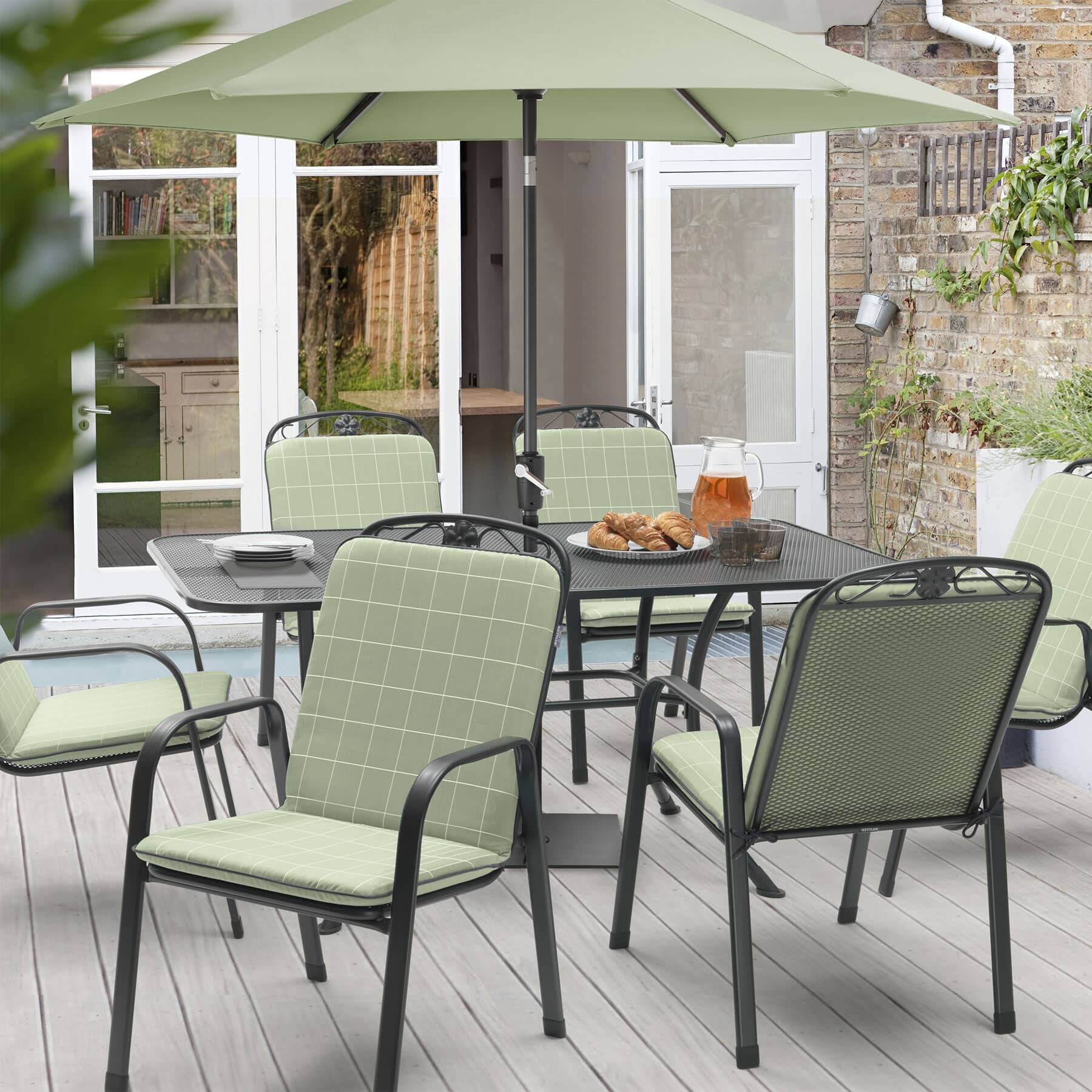 Kettler Siena 6 Seat Set KSIESET03 Garden Furniture
