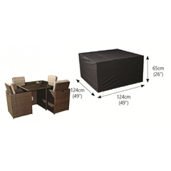 Bosmere 4 Seater Cube Set Cover Large