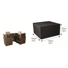 Bosmere 4 Seater Cube Set Cover Ex/Large