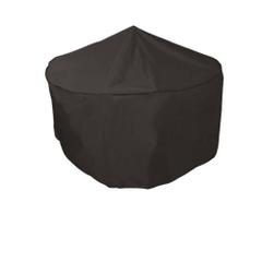 Bosmere 4/6 Seat Circular Patio Set Cover - Black