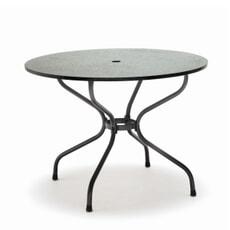 Kettler HIP Round 110cm Black Granite Effect Table