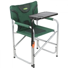 Outback Padded Directors Chair with Table - Green