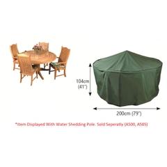 Bosmere Circular Patio Set Cover 4/6 Seat