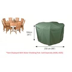 Bosmere Circular Patio Set Cover 8 Seat
