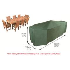 Bosmere Rectangular Patio Set Cover 8 Seat