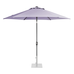 Kettler 3.0m Wind Up Parasol with tilt Grey frame and Wisteria Canopy