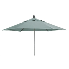 Kettler 2.3m Push Up Parasol Aqua