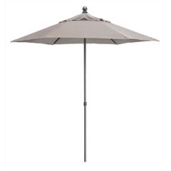 Kettler 2.3m Push Up Parasol Stone