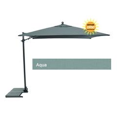 Kettler 2.5m Free Arm Parasol Aqua