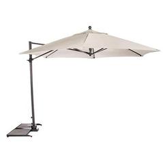Kettler 3.5m Free Arm Parasol Natural