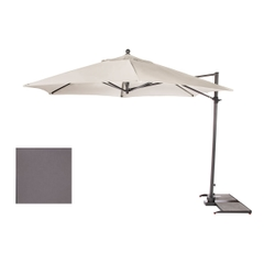Kettler 3.5m Free Arm Parasol Slate