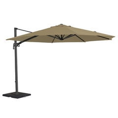 Alexander Rose 3.5m Round Cantilever Sunshade Taupe